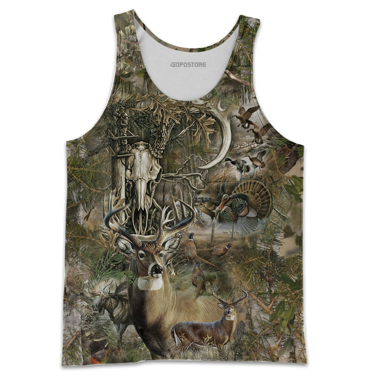 Beautiful Hunting Camo 3D All Over Printed Shirts for Men and Women 10
