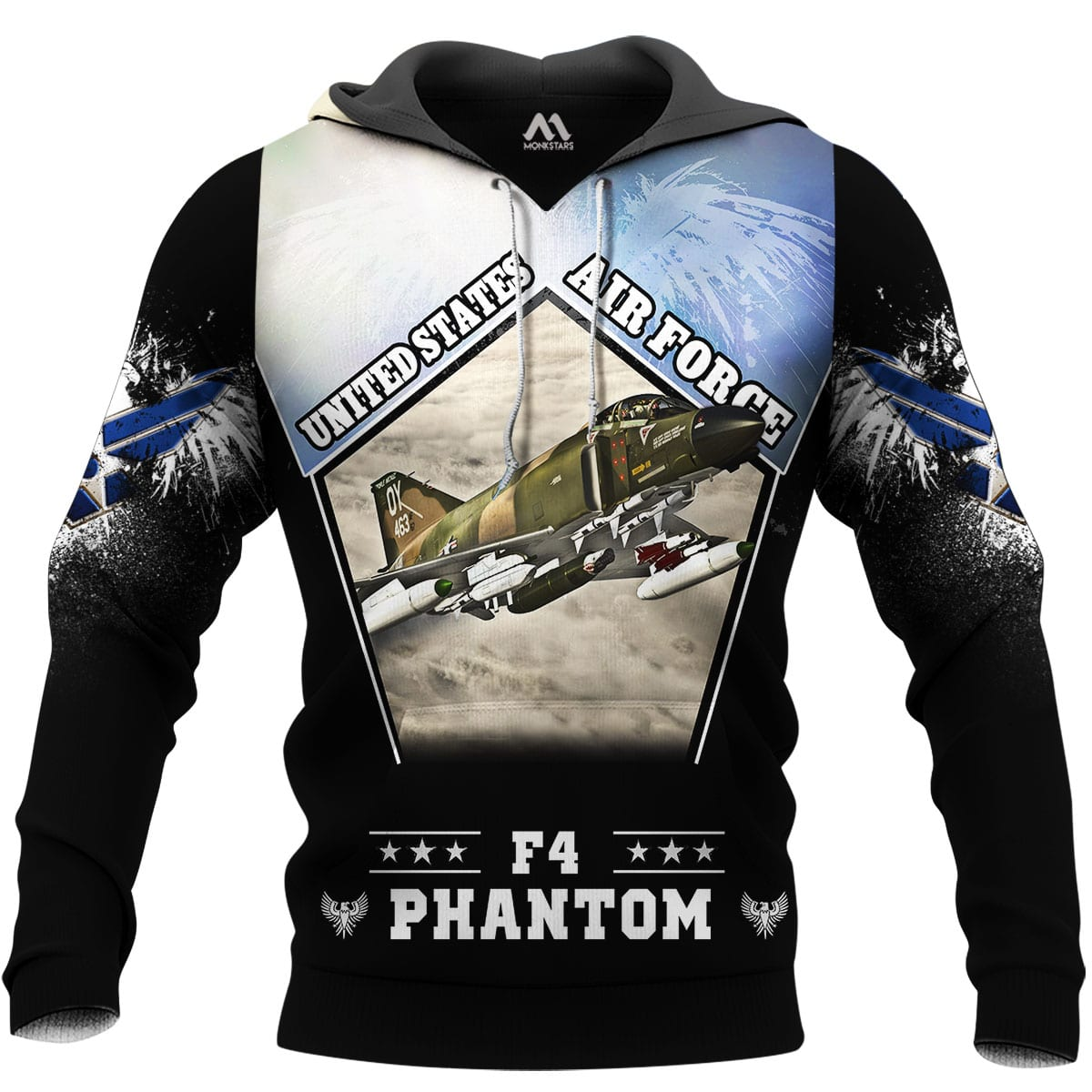 F4 Phantom 3D All Over Printed Shirts for Men and Women 1
