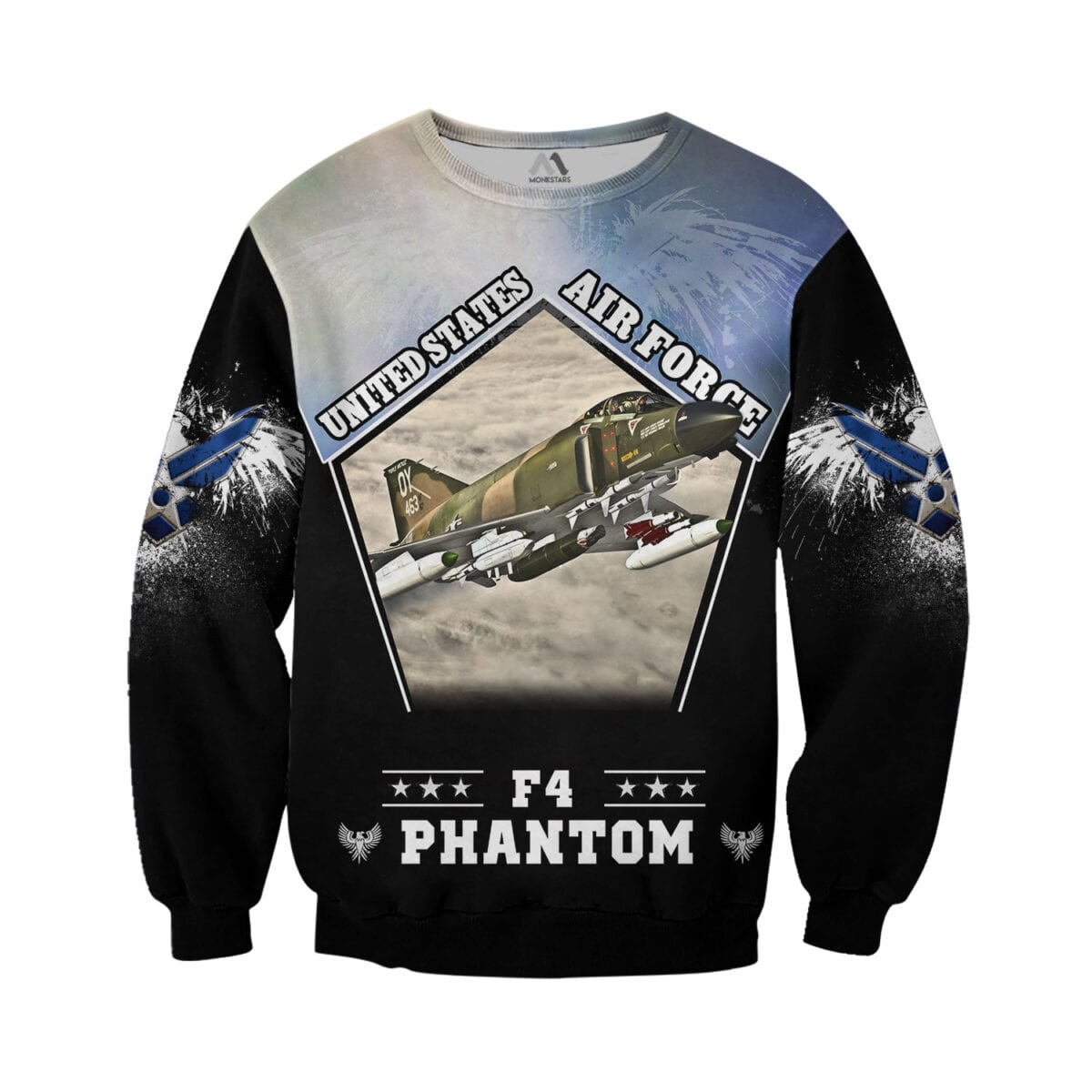F4 Phantom 3D All Over Printed Shirts for Men and Women 2