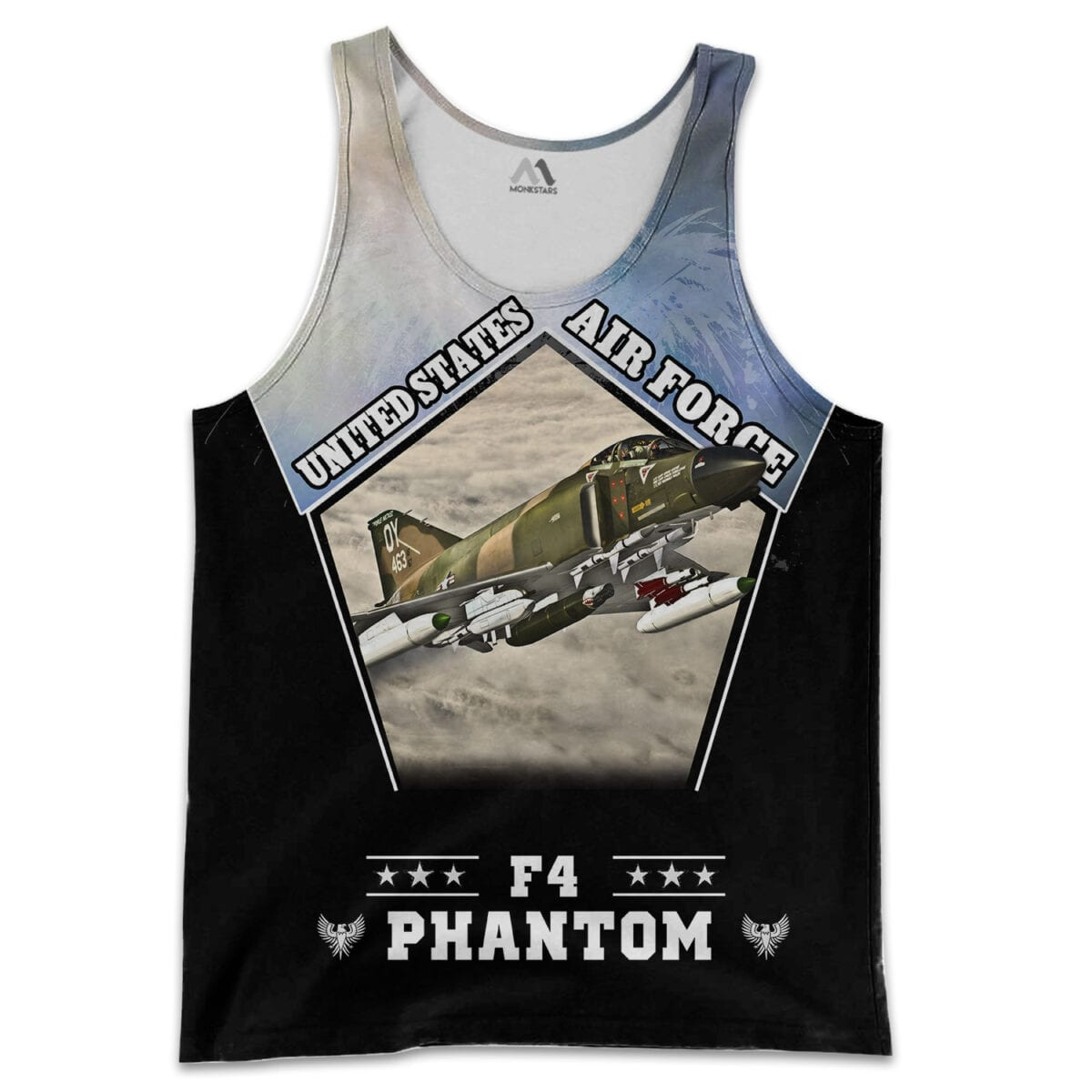 F4 Phantom 3D All Over Printed Shirts for Men and Women 10