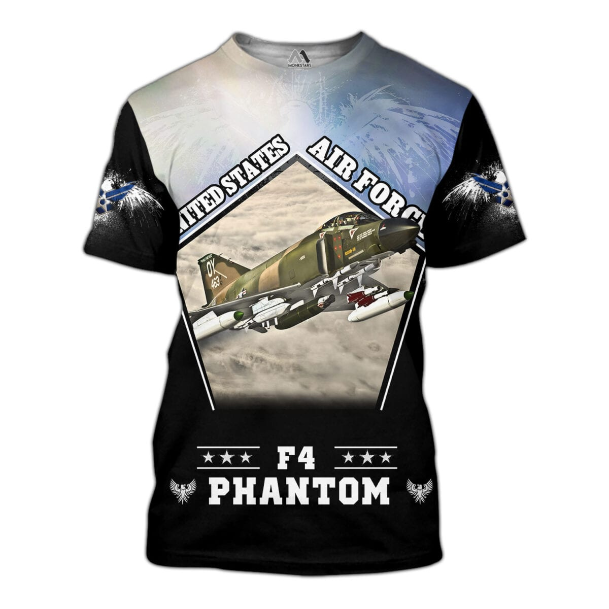 F4 Phantom 3D All Over Printed Shirts for Men and Women 8