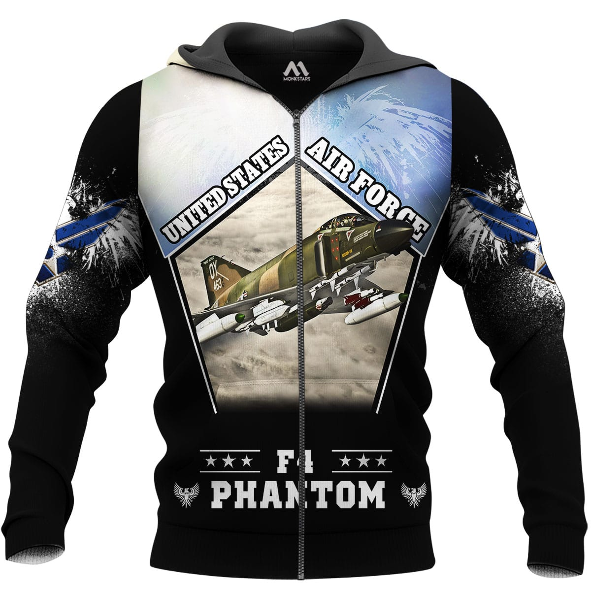 F4 Phantom 3D All Over Printed Shirts for Men and Women 9